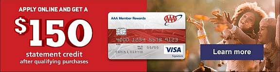 Get the AAA Visa Card!